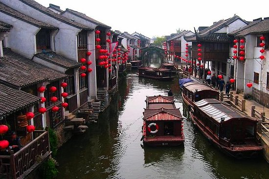 Zhouzhuang and Jinxi Water Town Tour...