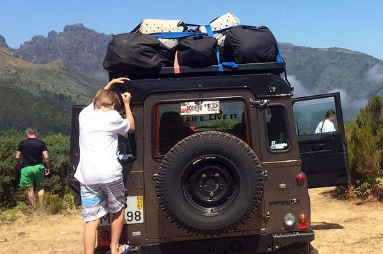Jeep and Canyoning Combo