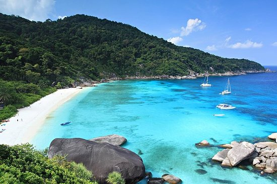 Fulldags tur til Similan Islands fra...
