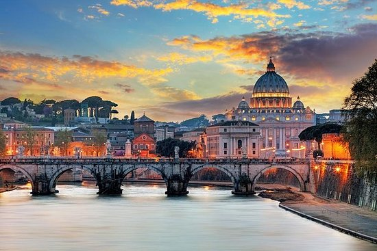 Vatican Museums at Dusk - Exclusive...
