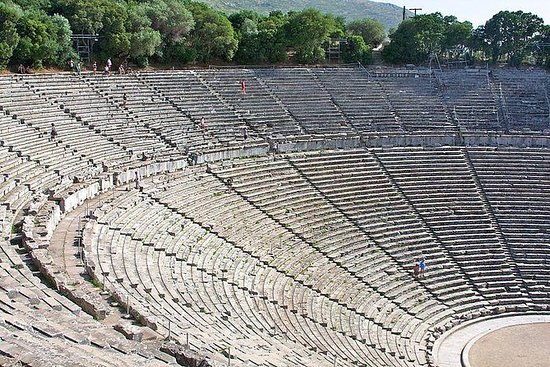 Epidaurus, Mycenae and Nafplio...