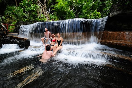 Arenal Volcano og Tabacon Hot Springs...