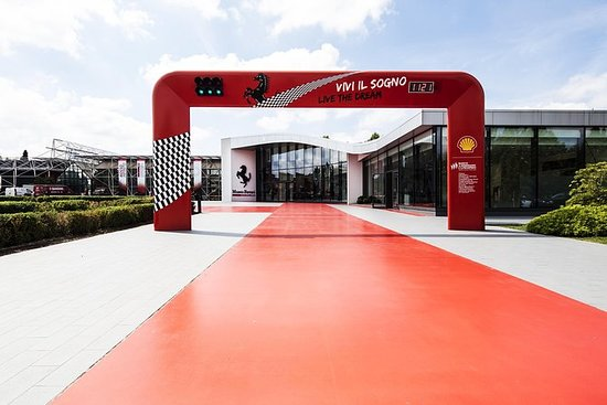 Ferrari Museum - Maranello Entrance...