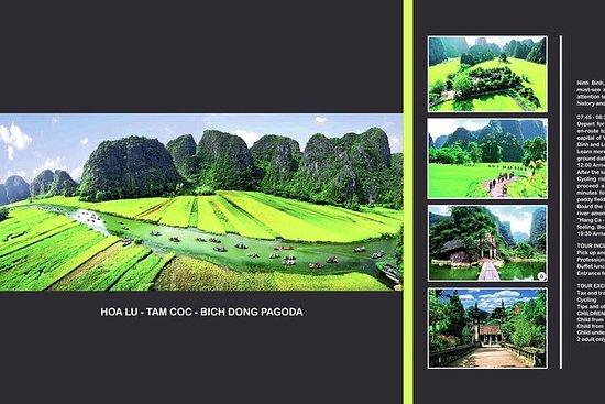Hoa Lu-Tam Coc Tour de lujo desde Ha...