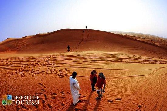 Safari de areia vermelha aventura no...