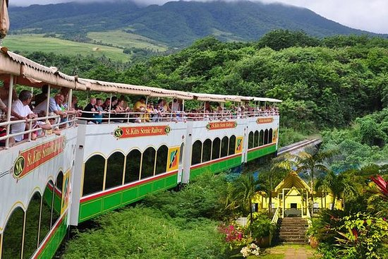 Trek de tren de Saint Kitts