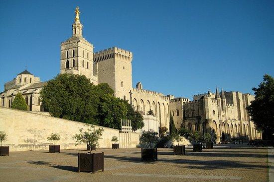 Les Baux de Provence, Arles og Pont...