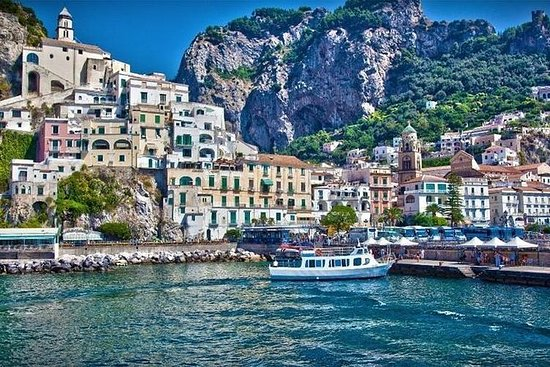 Amalfi Shared Tour - med afhentning