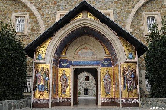 ラルナカからのKykkos MonasteryとKakopetria Vil…