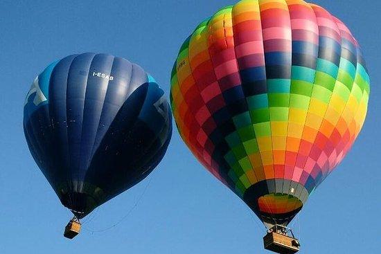 Vol en montgolfière près de Rome