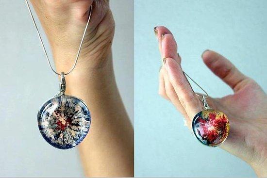 Magic Amulet - Glass Painting...