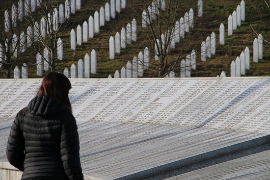 Srebrenica massacre and Drina canyon...