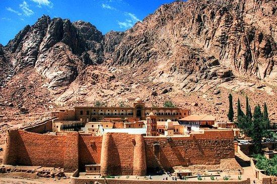 Mont Sinaï et le monastère de Sainte...
