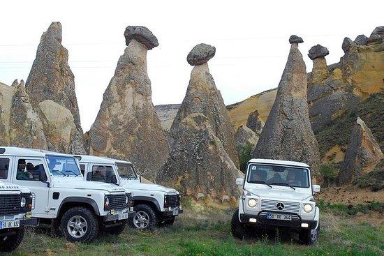 Kappadokien Halbtägige Jeepsafari mit...