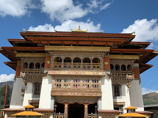 Temple in Bumthang