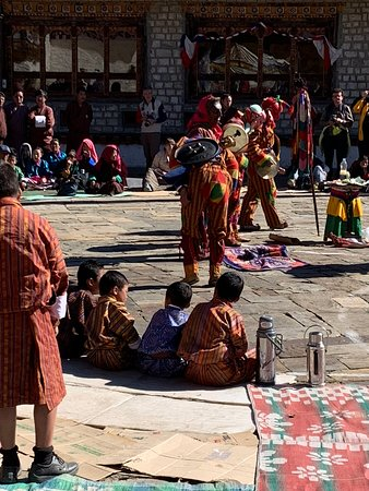Festival in Bumthang