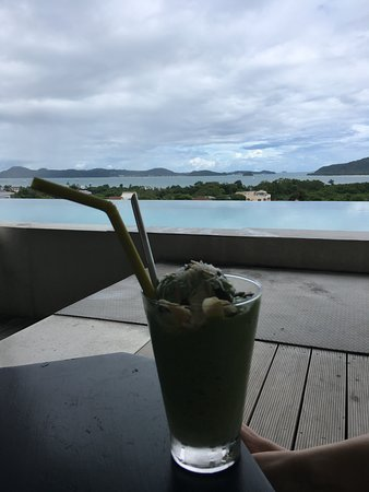 Авокадо+кокос смузи