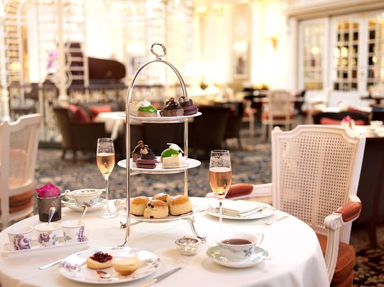 Image result for afternoon tea at the savoy