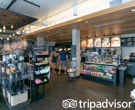 Starbucks at the Hilton Clearwater Beach Resort & Spa