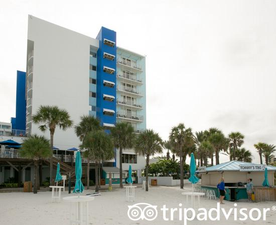 Exteriors at the Hilton Clearwater Beach Resort & Spa