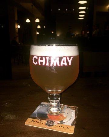 #chimay per here te pare nga Belgjika ne Shqiperi, vetem ne PUBLIC BEER. E servisur ne kriko, si Draught Beer, se shpejti e shoqeruar dhe me djathin e prodhuar posacerisht per #chimay Gold Cheese. Jeni te mireseardhur!!!🍻