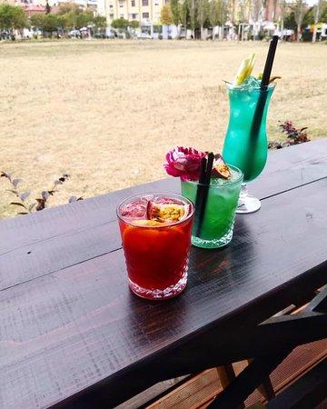 Just a taste of a good life...😉☺️ Special #cocktails only @public_beer_ 😋 #PUBLICBEER #krombacher #tirana #tiranalifestyle #albania #visitalbania #visittirana