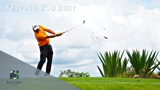 Lucero Golf and Country Club: Activities such as Tennis, Clubhouse, pool, jacuzzi, 18 hole round golf for those whom enjoy golfing.