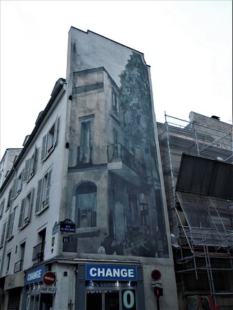 Fresque La rue