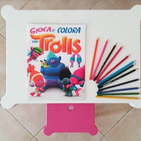 Tavolo dei giochi per i nostri piccoli ospiti!