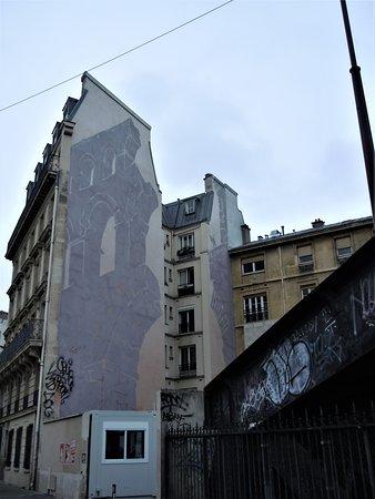 Fresque Le Peintre