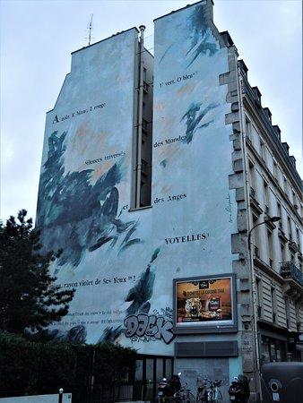 Fresque Les Voyelles