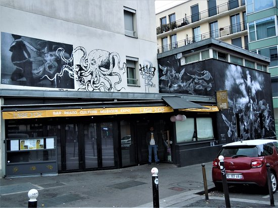 Fresque Vol de Colombes