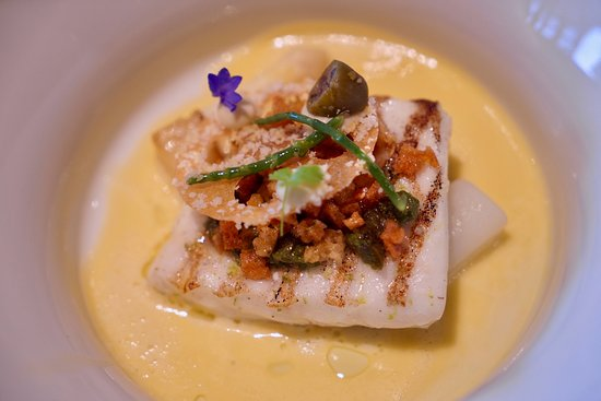 Restaurant Fred: Fish dish