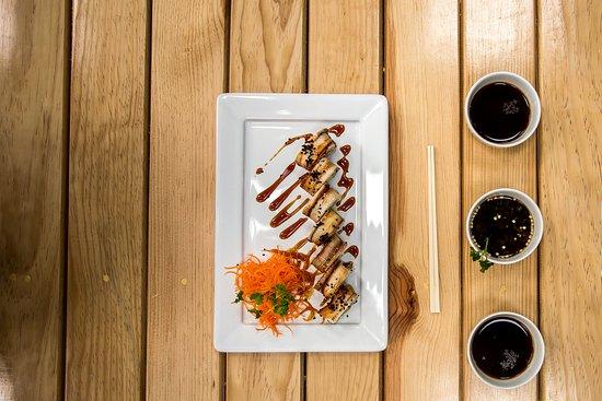 Mesonería Gourmet: Los amantes del sushi también tienen su espacio. Ushi Sushi nos presenta su propuesta llena de sabor.