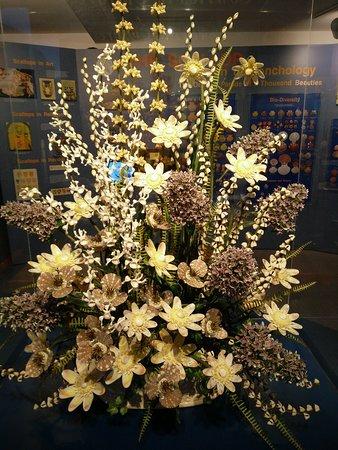 Stunning floral arrangement with shells