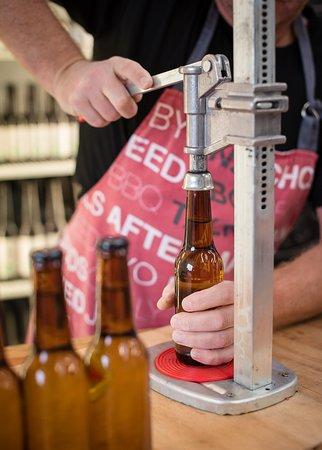 Bottling Kombucha at The K4 Brewery