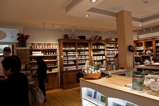 New Glasgow, Canada: The shop's interior.