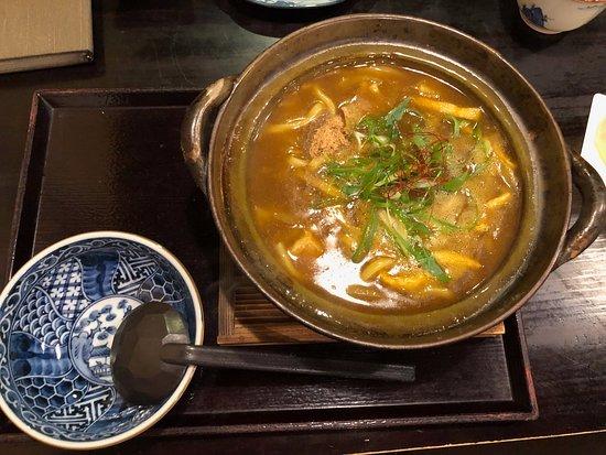 Hakone Yuryo: レストランで夕食のカレーうどんが美味しかった。