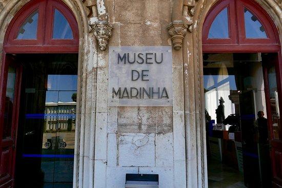 Museu de Marinha: ジェロニモス修道院の西側に入口がある。