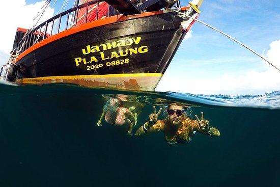 Cruceros al atardecer en Krabi...