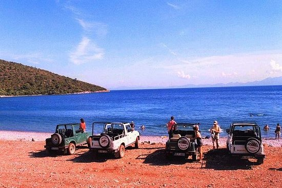 Jeep Safari and Swimming in Davutlar...