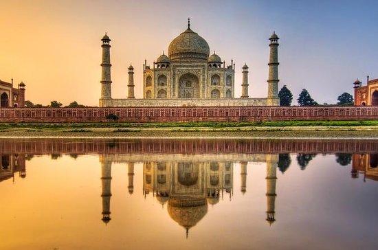 Ingresso sem fila para o Taj Mahal...