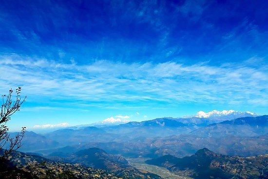 Um dia de caminhada de Katmandu para...