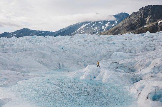 氷河上に降り立つヘリコプターツアー