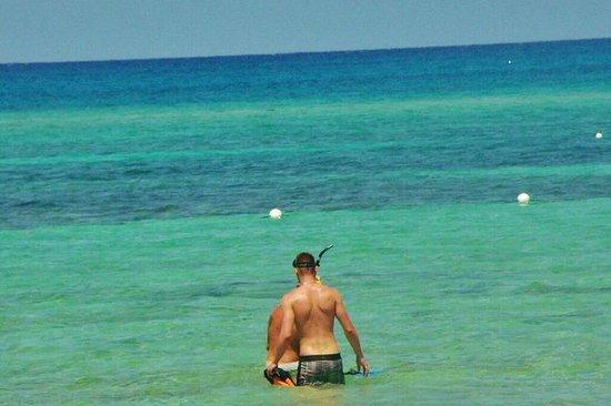 Villaggio e snorkel
