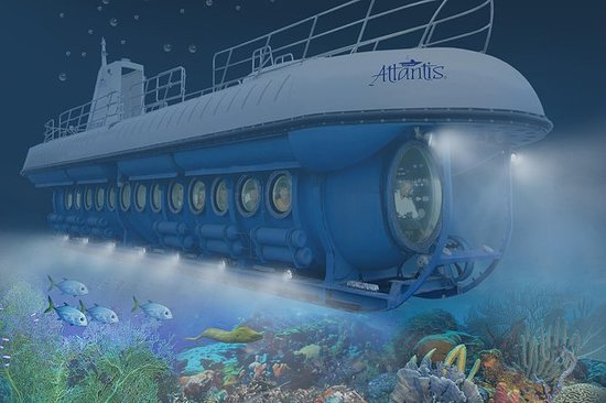 Atlantis Submarines Tour de nuit