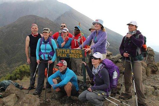 4 dager - 3 netter klatring Mount Meru