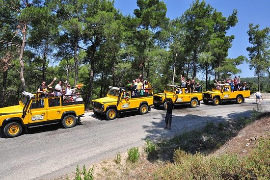 Marmaris Jeep Safari Tour inkluderte...