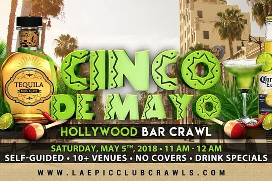 Cinco De Mayo Hollywood Bar Crawl