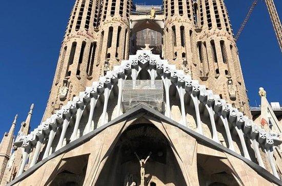 Basilica of the Sagrada Familia...